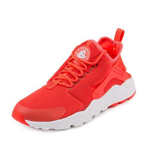 Nike Womens Air Huarache Run Ultra BRIGHT CRIMSONWHITE 819151600 8 *** Want  to know