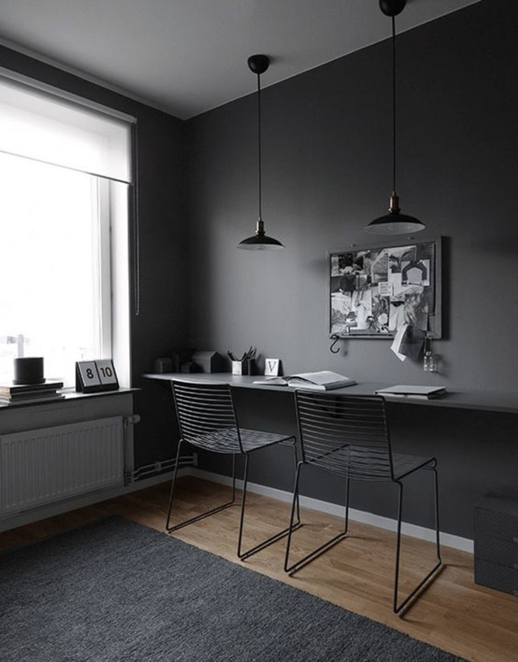 Dark floor in the interior - how to combine and examples of design