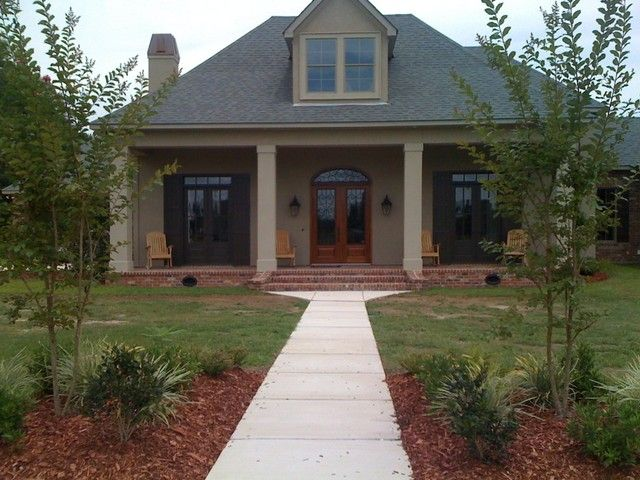 south louisiana acadian style homes - bing images | house plans