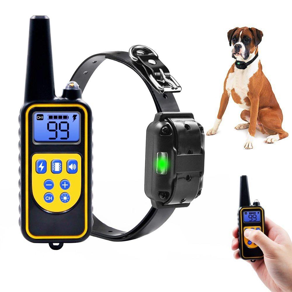Dog collars electric pet dogs barking shock dog training