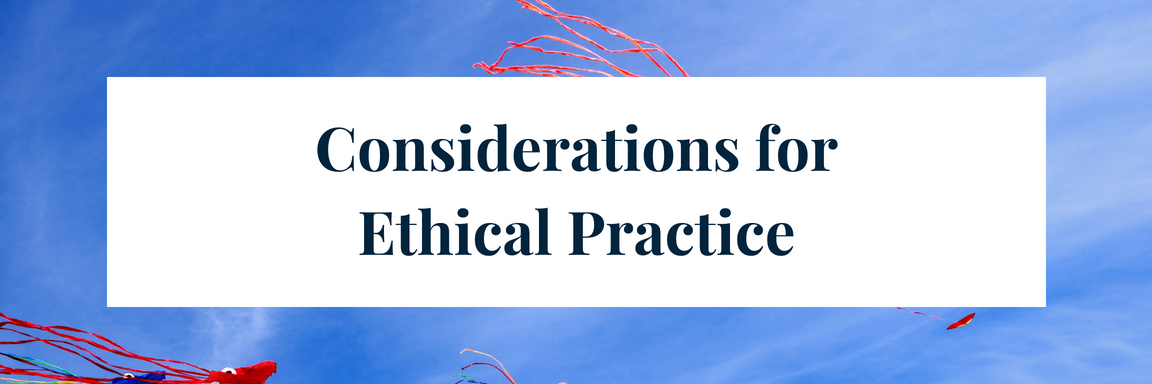 Considerations for Ethical Practice — The Informed SLP