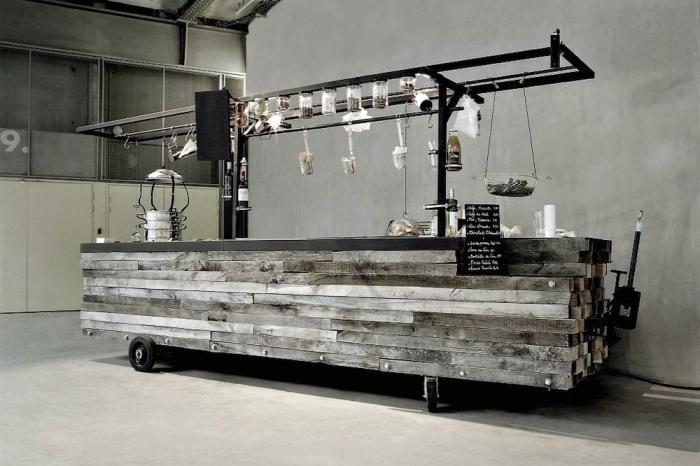 The Portable Kitchen Cart Portable Bar Mobile