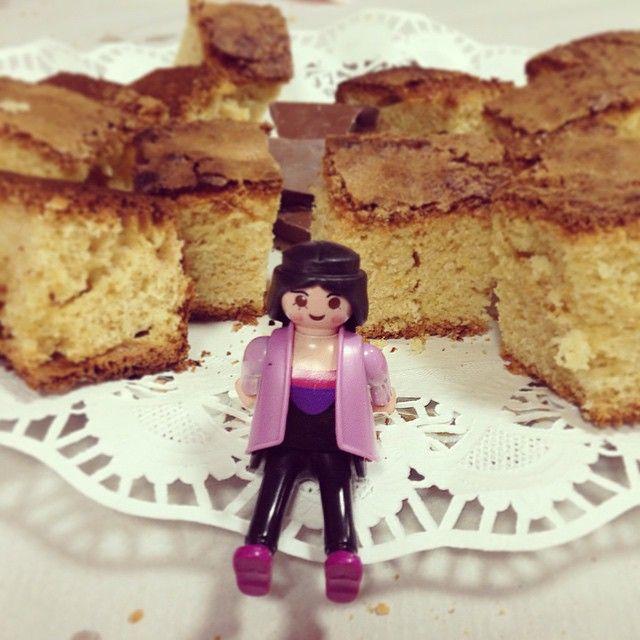 #Tati y la torta de Paqui #playmobil