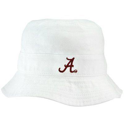 Alabama Crimson Tide Infant White Bucket Hat  ca6b216fccf
