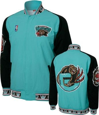 super popular cd65c 387bb Vancouver Grizzlies NBA Warm-up Jacket  Grizz  GrizzNation