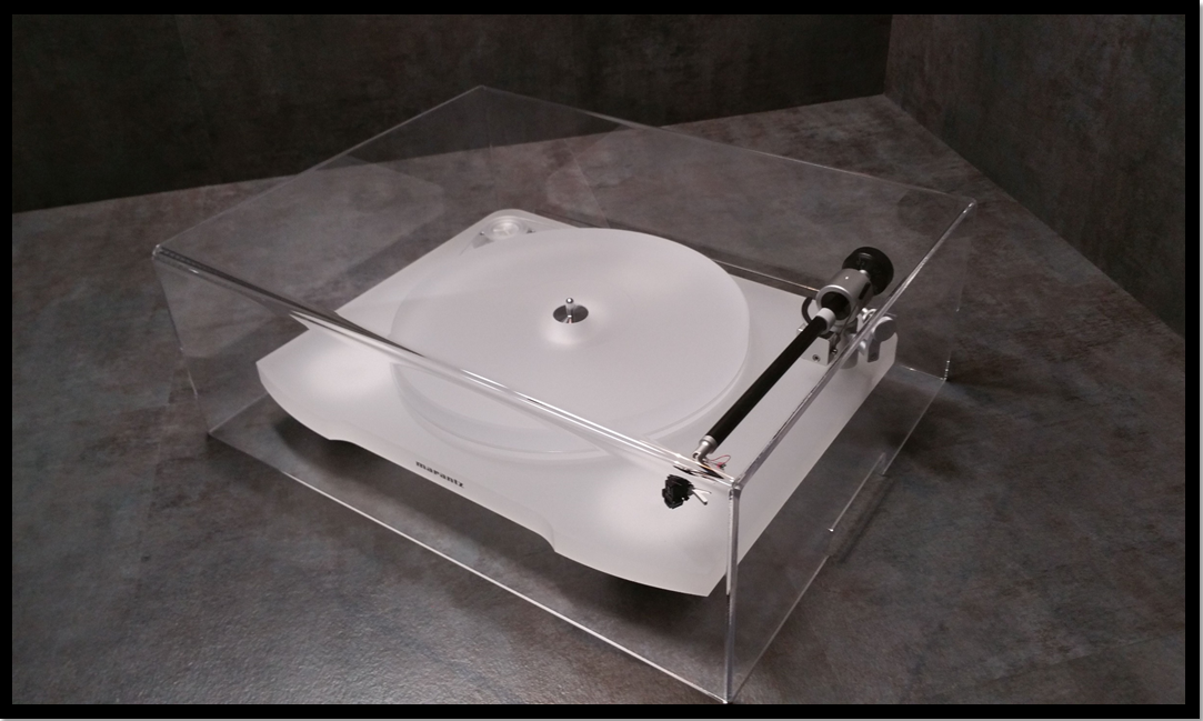 "3//16/"" Acrylite MARANTZ TT 15S1 J-n-B Audio Pro Series Turntable Dust Cover"