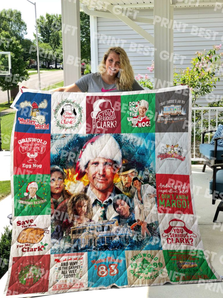 National Lampoon's Christmas Vacation Poster Quilt