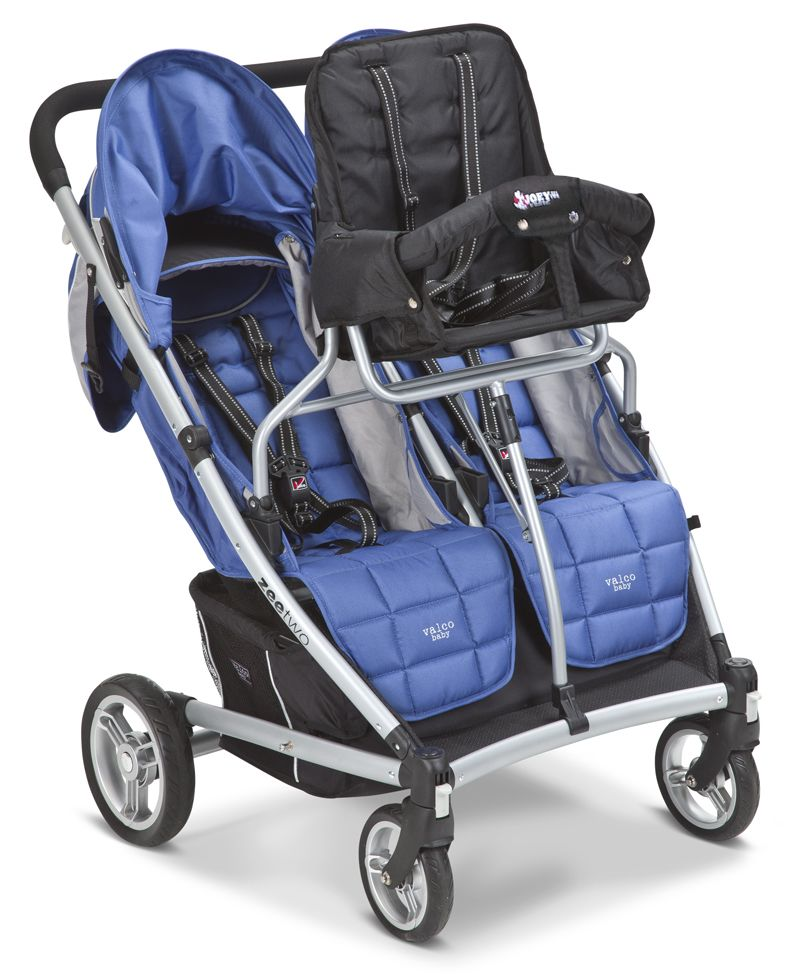 3 kids in comfort & style! The Joey Third Toddler Seat for