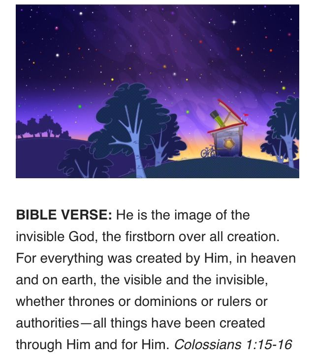 Galactic Starveyors Bible School Crafts
