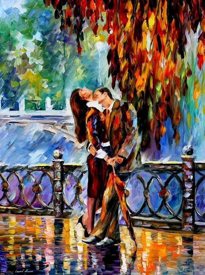 Как, осенний поцелуй картинки