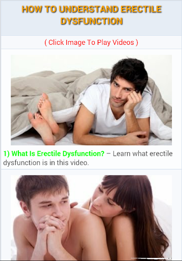 getting and maintaining an erection