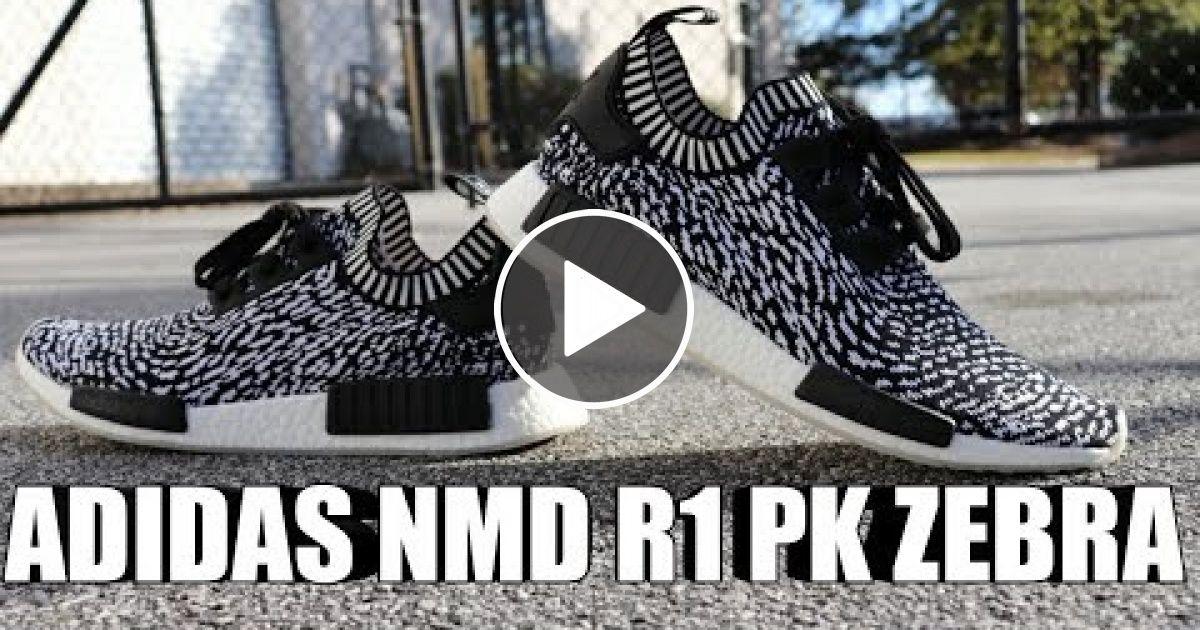 7af92c637 ADIDAS NMD R1 PK ZEBRA SASHIKO REVIEW