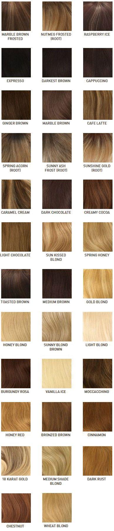 human hair color inheritance chart - Google Search Genetics - sample hair color chart