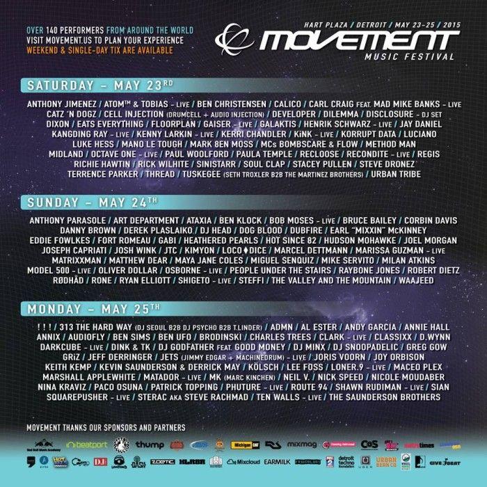 Movement 2015 Schedule Demf 2015 Dj Frequencies Event