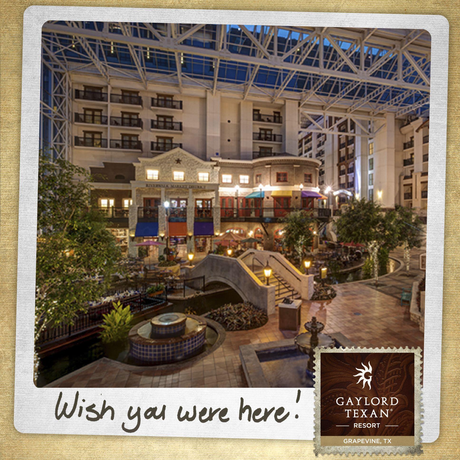 Gaylord Texan Resort In Grapevine Tx Riverwalk Atrium