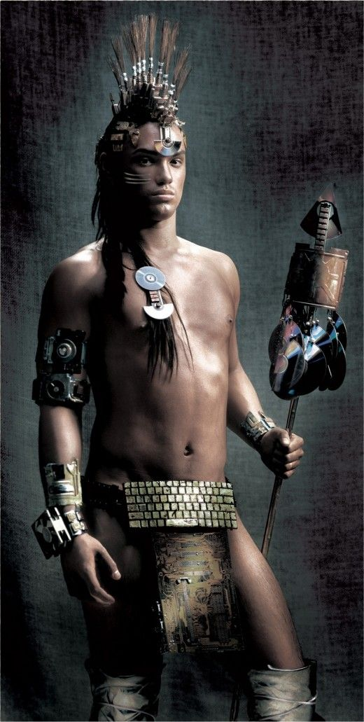 Forest Warrior Native American Men Native American Peoples