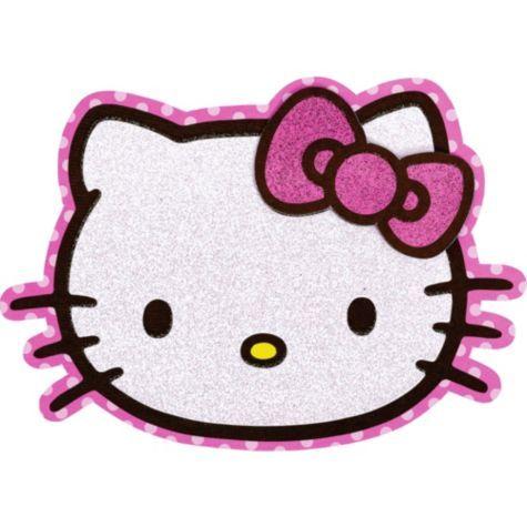 Glitter Hello Kitty Invitations Party City Hello Kitty