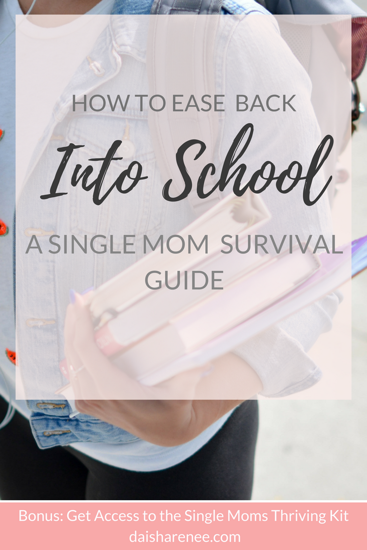 How To Ease Back Into School A Single Moms Survival Guide Mummy