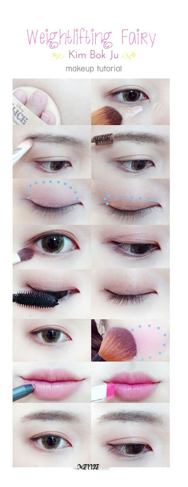 Themelliediaries beauty lifestyle blog weightlifting fairy themelliediaries beauty lifestyle blog weightlifting fairy kim bok ju makeup tutorial leesungkyung baditri Image collections