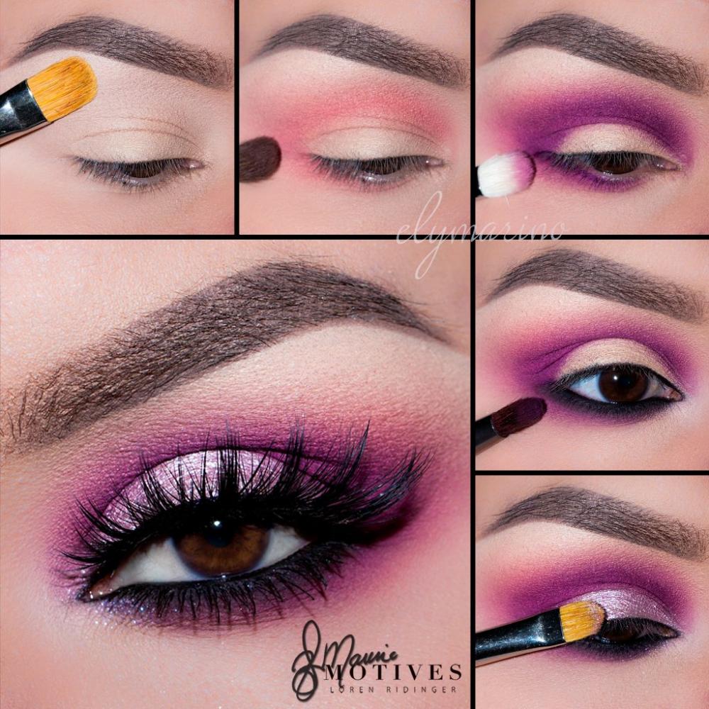Get The Look Bold Pink Eyeshadow Tutorial Loren S World Eyeshadow Makeup Pink Makeup Eye Makeup Tutorial