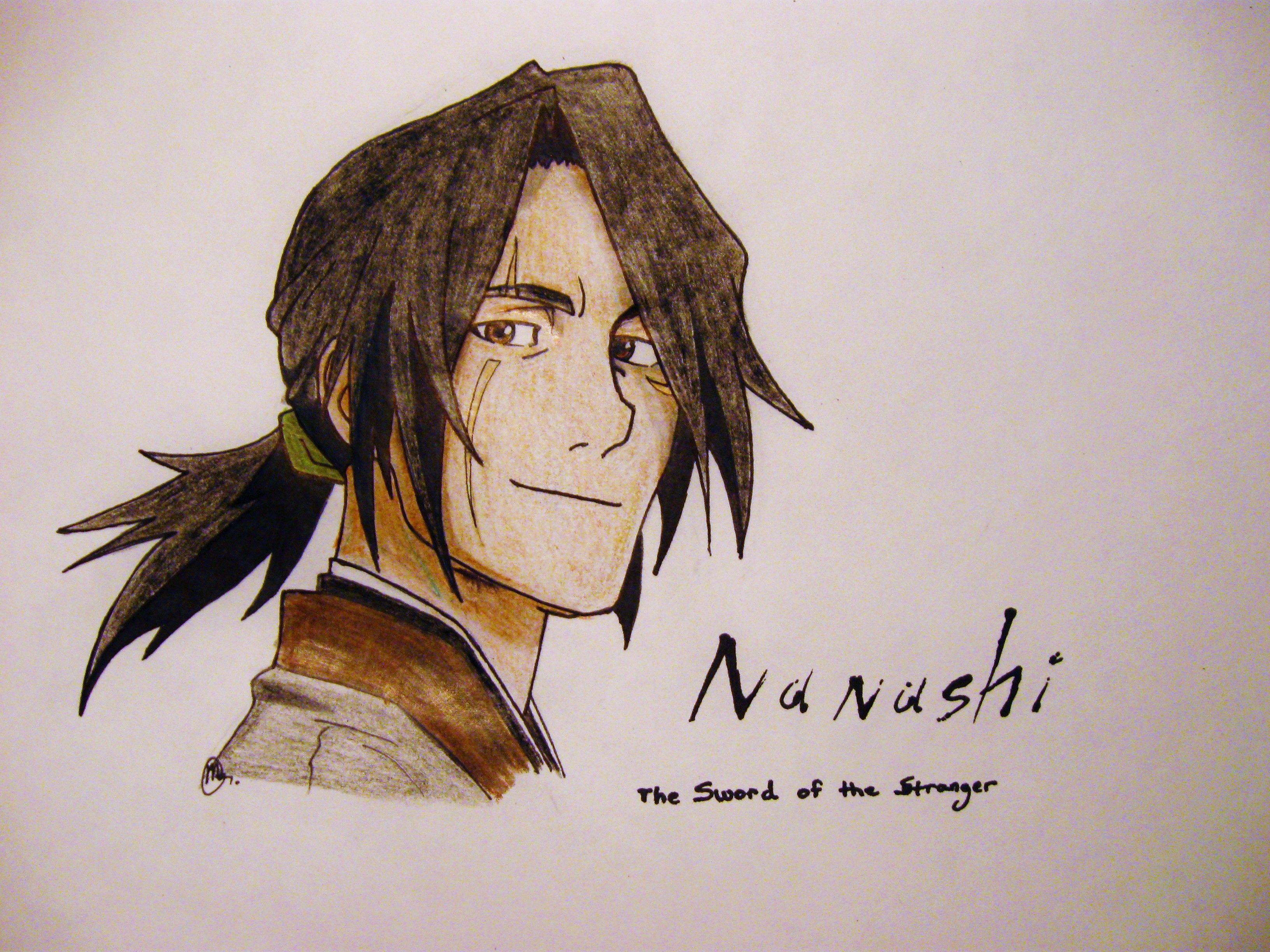 Nanashi from sword of the stranger sword of the
