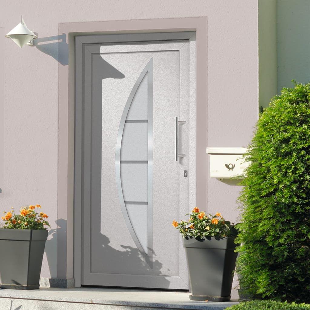 vida XL front door white 98x 190 cm