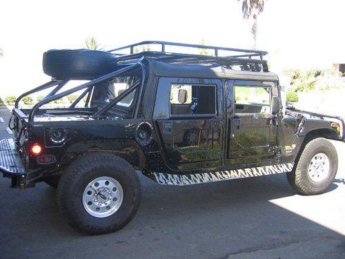 Soft Top Roof Rack System Predator Inc. Hummer Parts