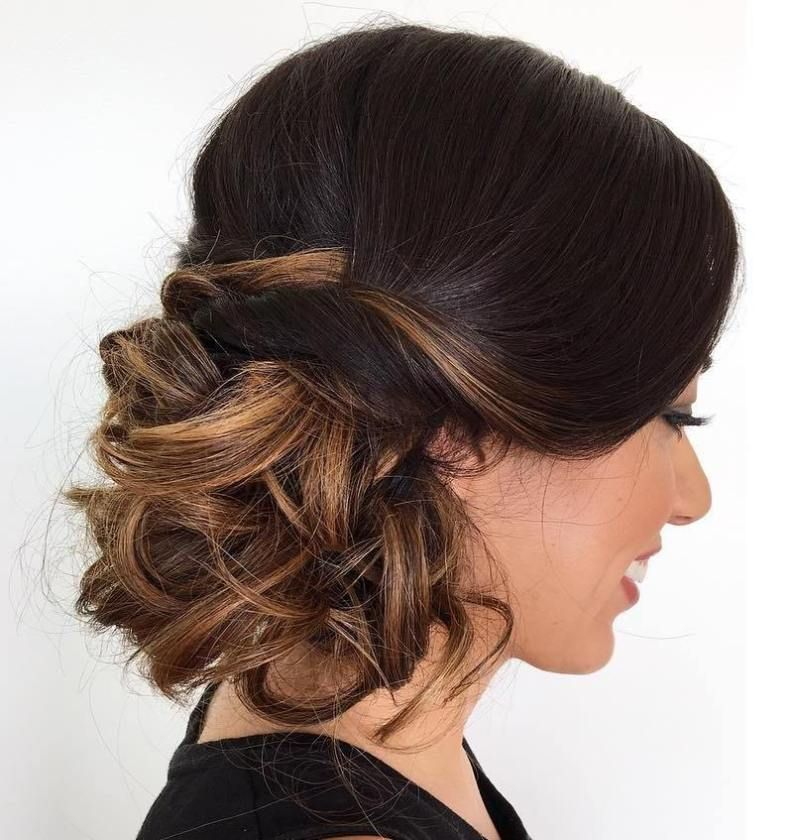 Side Bun Hairstyles Amusing 40 Casual And Formal Side Bun Hairstyles For 2018  Formal Woman