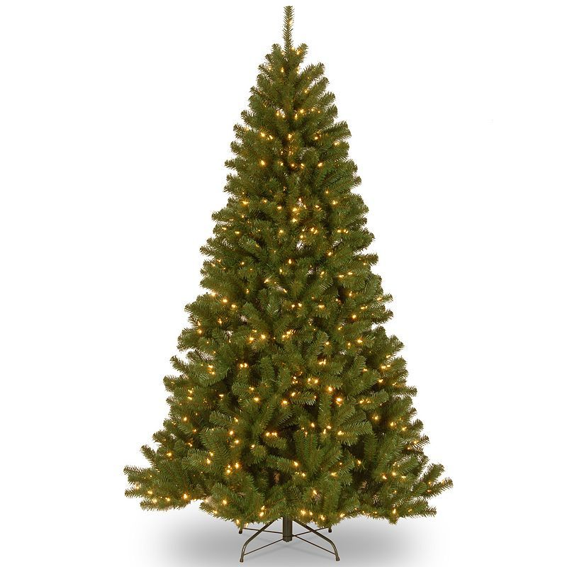 7.5-ft. Pre-Lit Dual LED North Valley Spruce Artificial ...