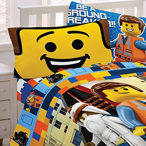 Kids Sheet Sets Lego The Movie Full Size Set You Can Find