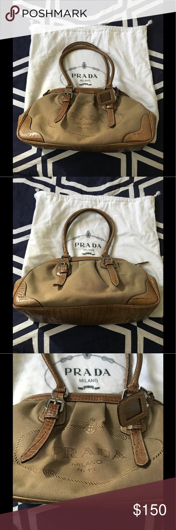 3abf17bae32b Shop Women s Prada Tan size OS Bags at a discounted price at Poshmark. In  new condition.