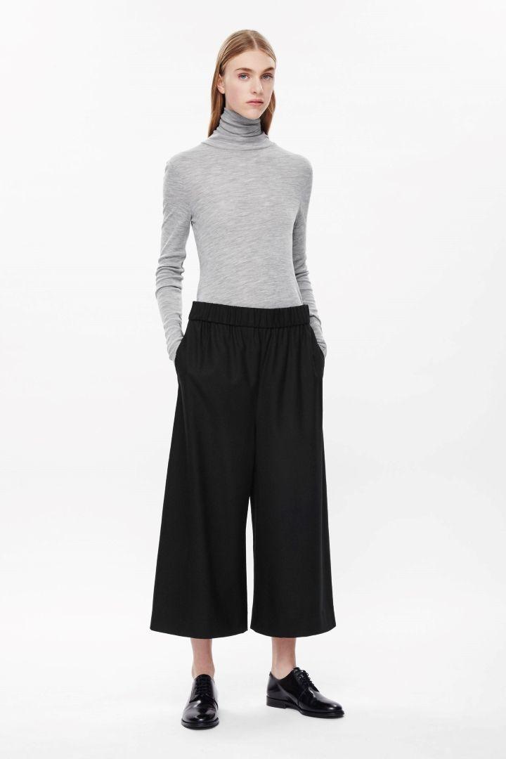 COS | Wide-leg crop trousers