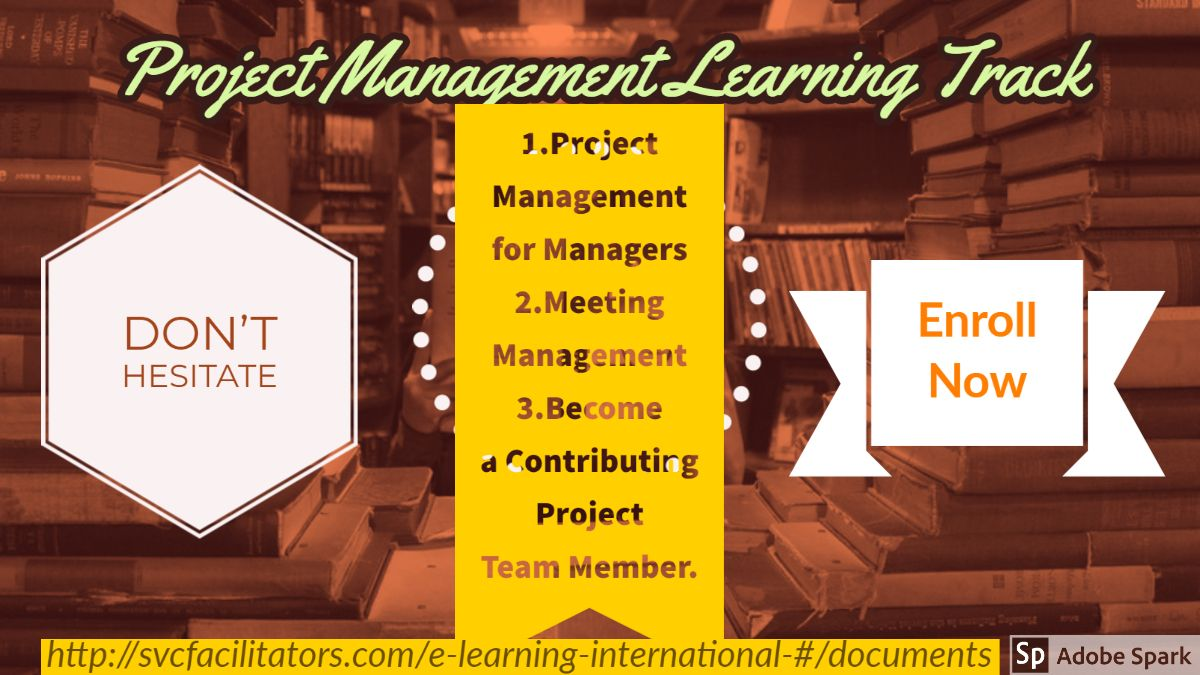 Project Management Learning Track Online Training Courses Elearning Project Management