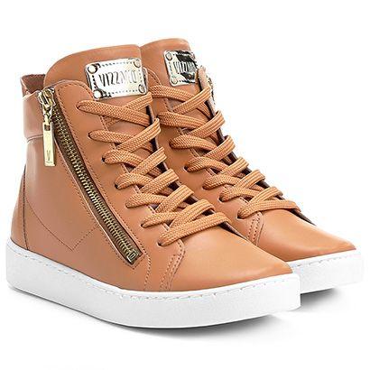 Tênis Vizzano Cano Alto Zíper   tênis em 2019   Pinterest   Shoes ... 384431419e