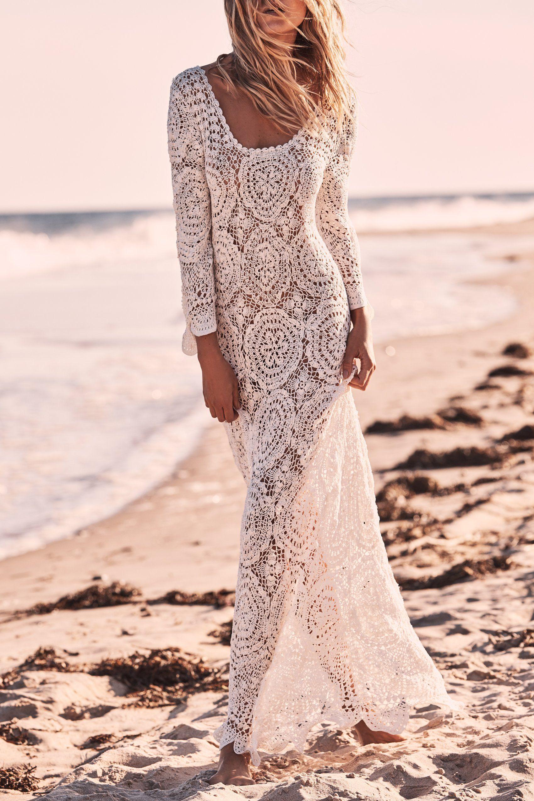 Dresses Loveshackfancy Page 2 Crochet Wedding Dresses Crochet Maxi Dress Long White Dress