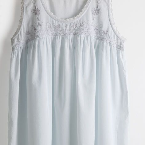 97a4a3b3 Embroidered cotton nightdress - Clothing - Woman - Homewear & shoes | Zara  Home Hungary