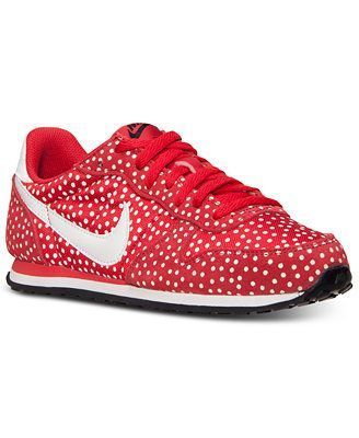 nike womens genicco print casual sneakers from finish line