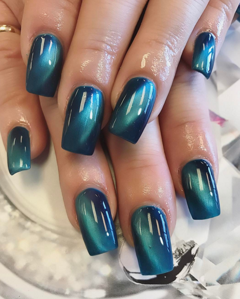 blue cat eye nails nailpro gel nail designs pinterest nagelschere nageldesign und. Black Bedroom Furniture Sets. Home Design Ideas