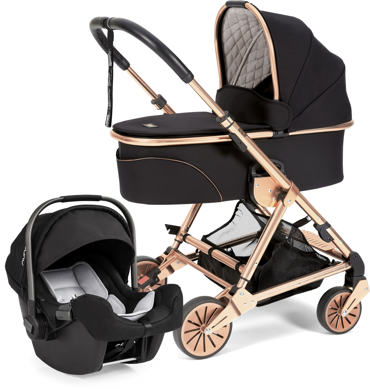 Mamas & Papas Urbo 2 Stroller, Signature Edition Black