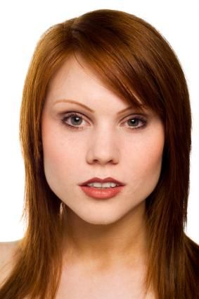 Super Redhead Hairstyles Long Blunt Cut With Face Framing Layers And Short Hairstyles Gunalazisus