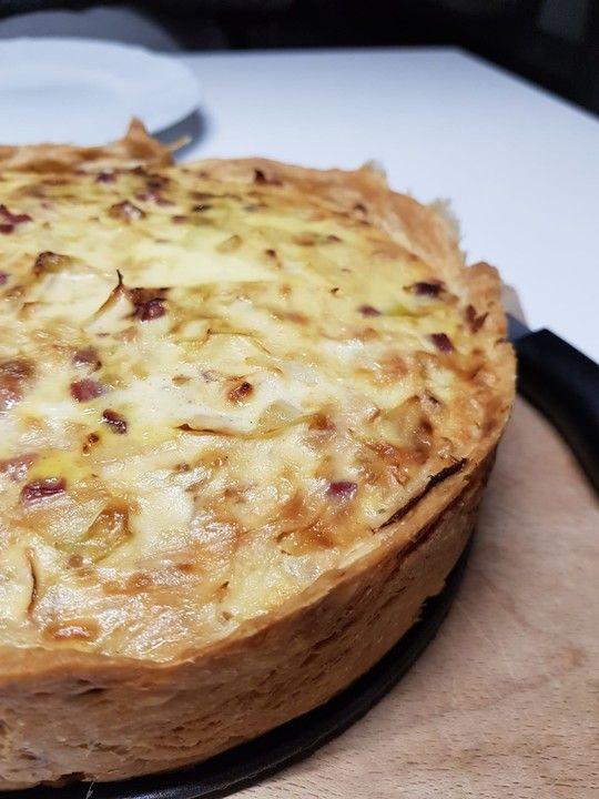 Schwäbischer Krautkuchen (Mürbteig) von istrebitjel | Chefkoch