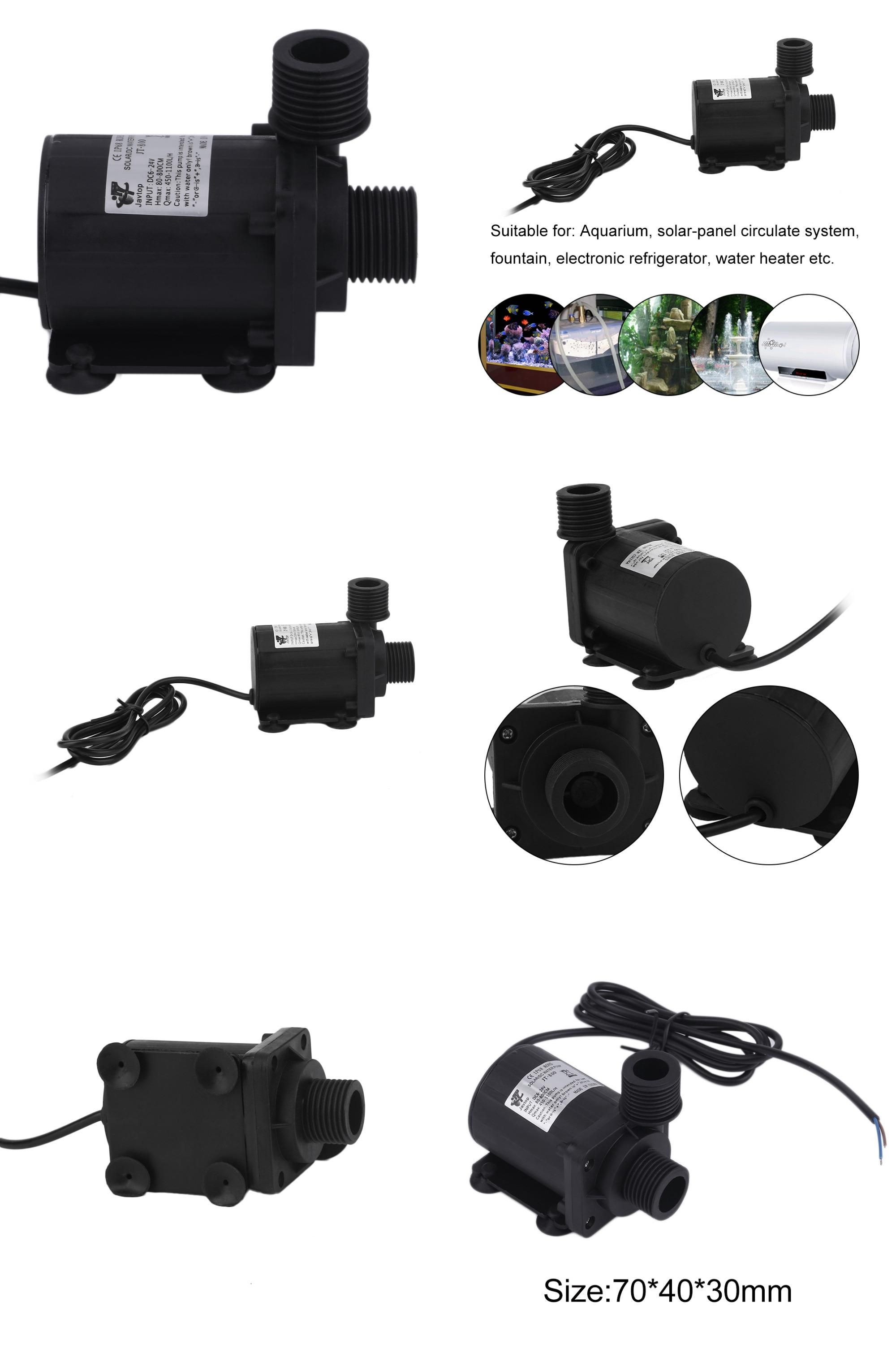 Visit To Buy Dc 24v 600l H Brushless Motor Magnetic Centrifugal Water Pump Aquarium Solar Panel Circulate System Water Heater Founta Solar Panels Water Heater