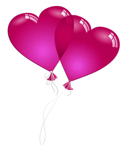 Valentine Heart Baloons Png Clipart Picture Clip Art Heart Balloons Valentines Clip