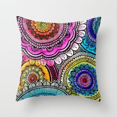 mandala+Throw+Pillow+by+Goyye+-+$20.00 | Obviously ...