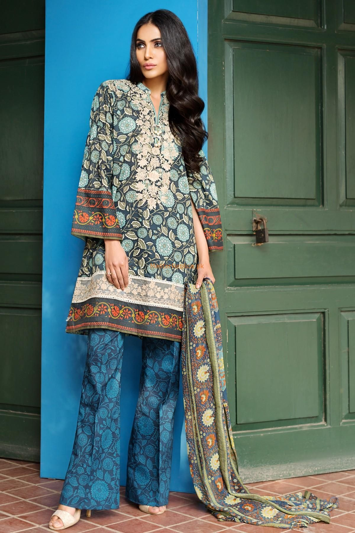 1ffb7d1fdc Check Out Khaadi G17204-A-BLUE replica at Master Replica Pakistan  #pakiclothing #
