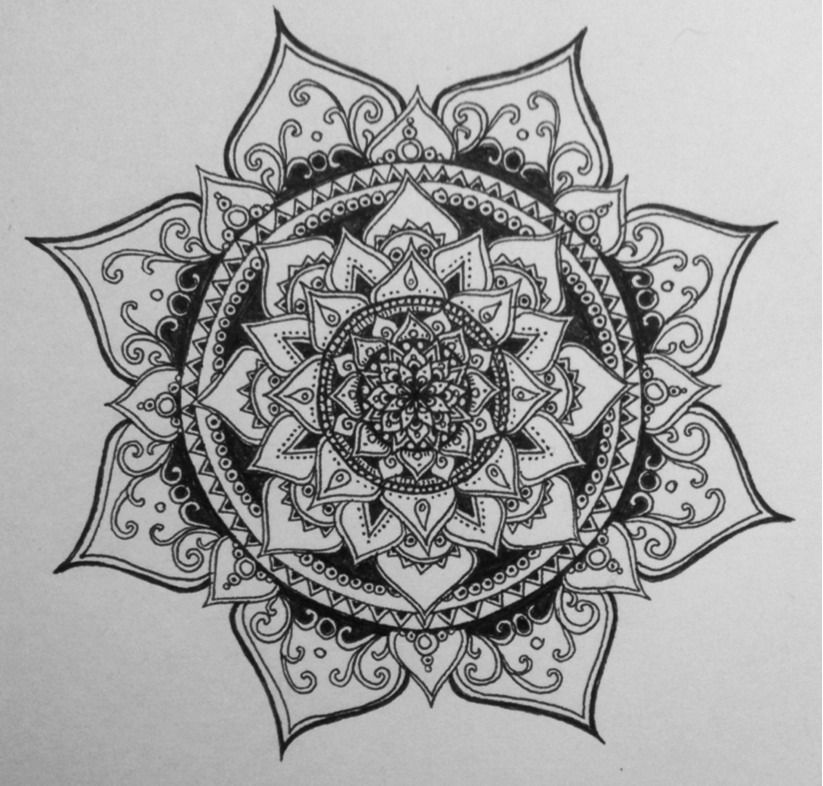 Mandala Tattoo Design On Pinterest: Mandala Designs, Harborinthestorm: Procrastinating, As