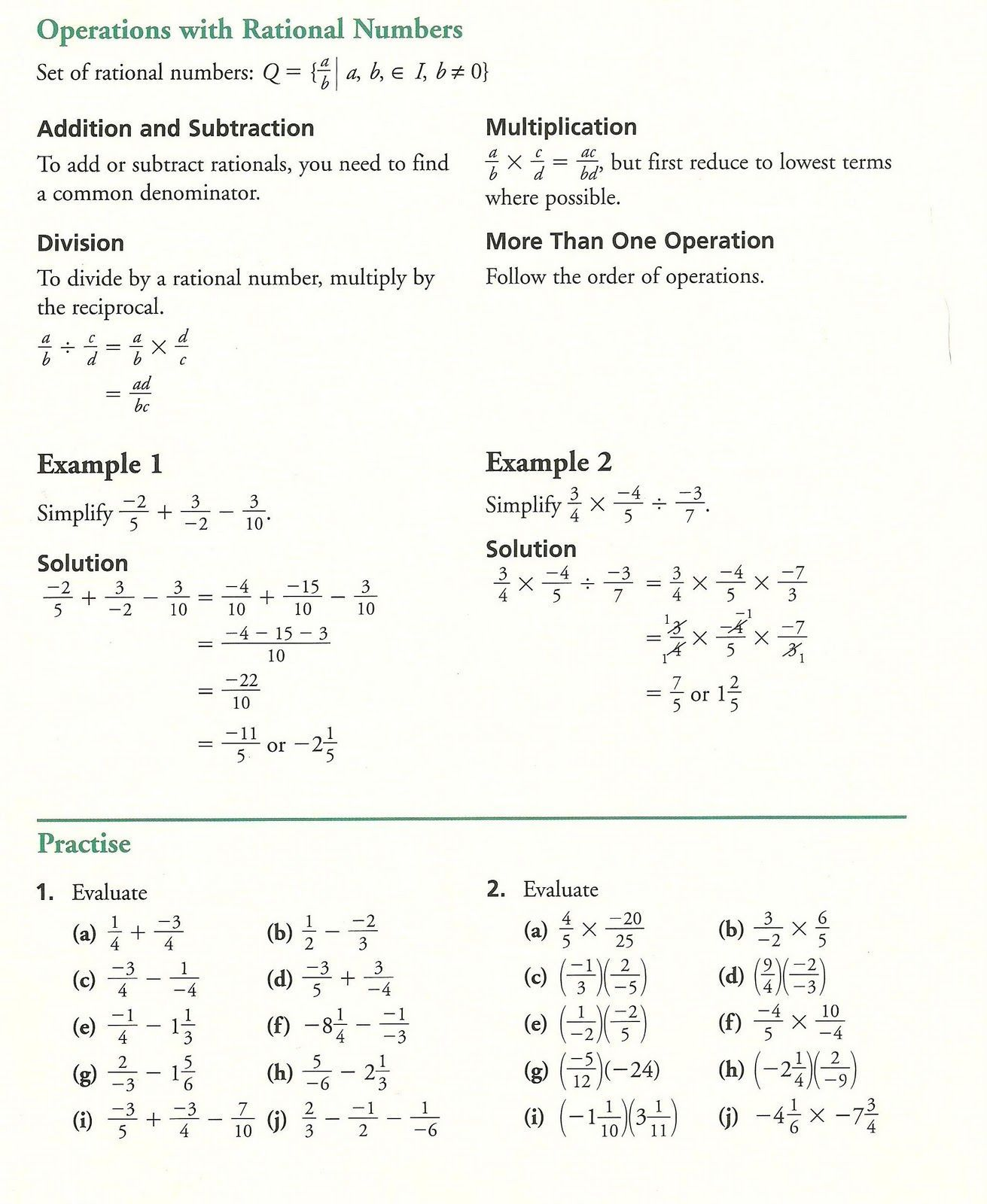 Grade 10 10th Grade Math Worksheets With Answers Math