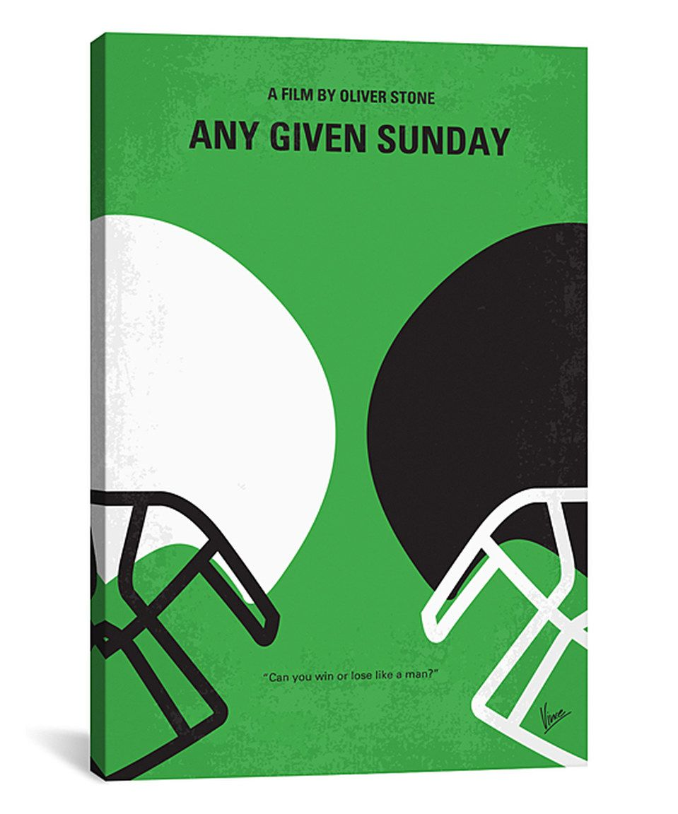 Take A Look At This Any Given Sunday Minimal Movie Poster