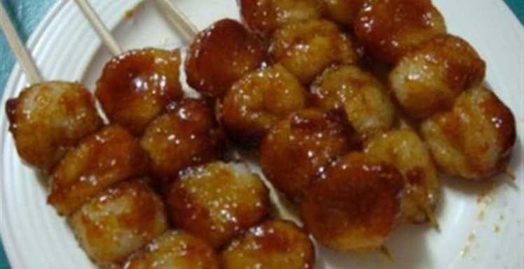 Filipino Carioca Recipe (Fried Sweet Rice Balls Dipped in ...