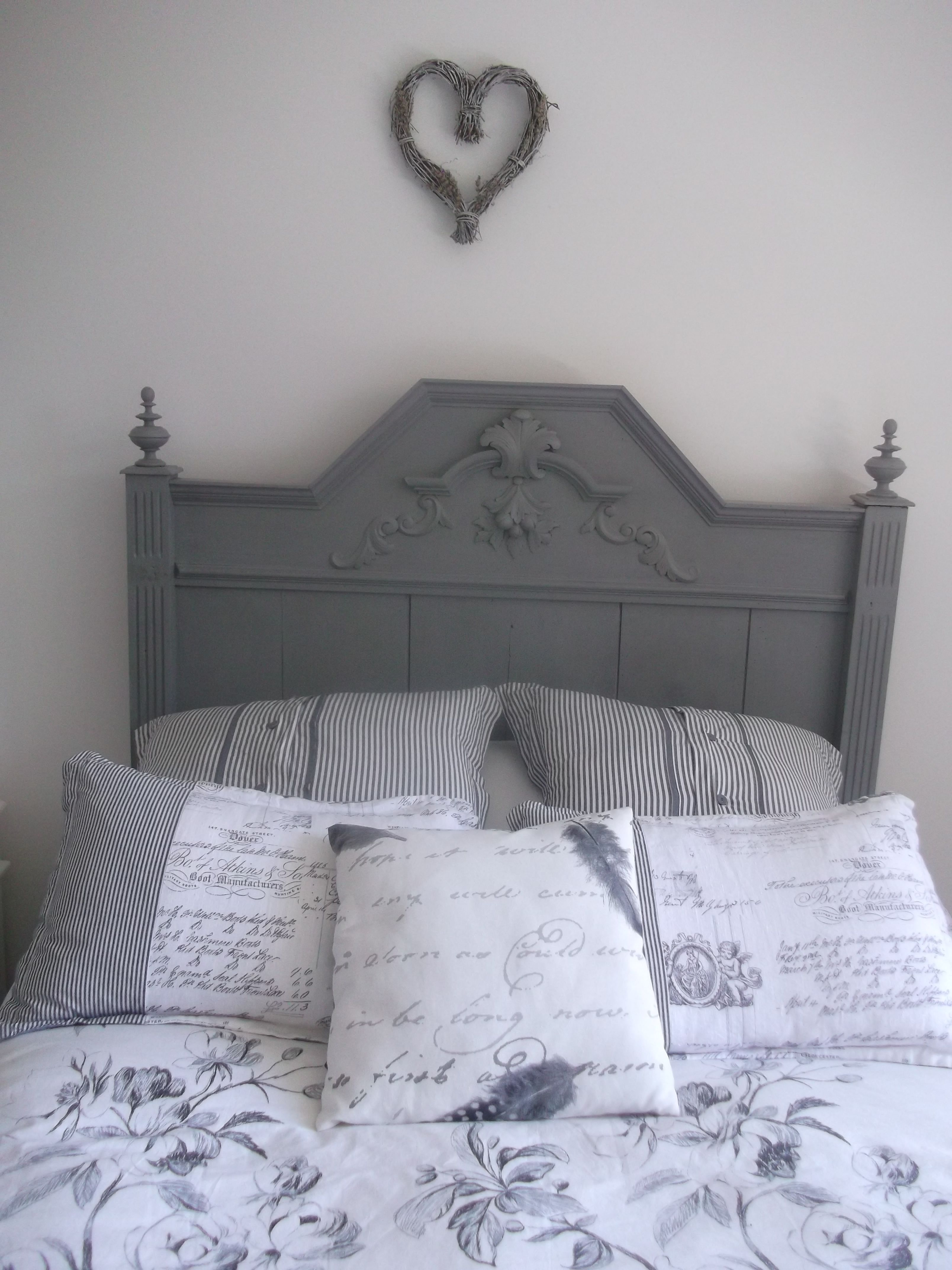 Painted Antique French Bed With Images Antique French Bed Home Decor